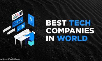 best tech companies in world