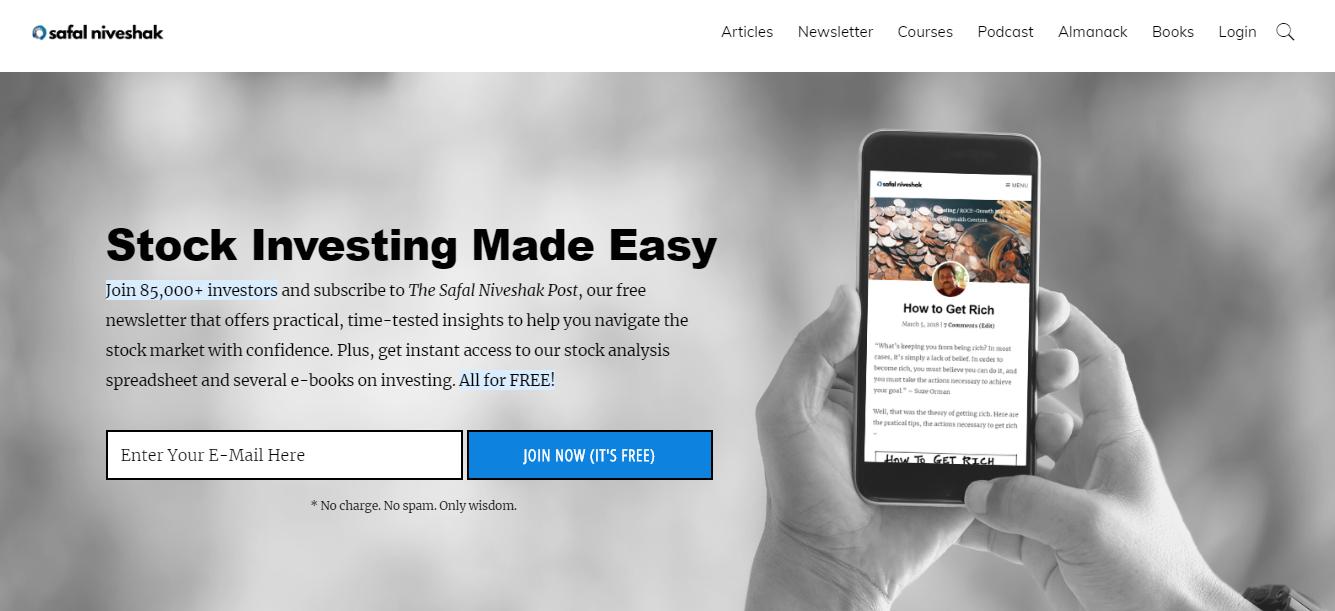 Safal Niveshak Financial Blog