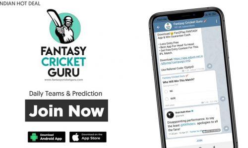 fantasy cricket guru telegram channel